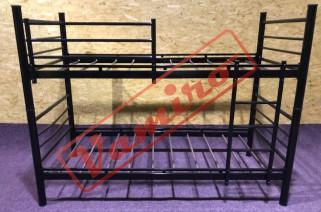 Patrová kovová postel - palanda - Prodej kovové palandy - černá barva<br />