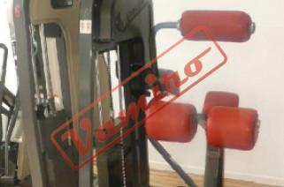 NAUTILUS - ZÁDOVÉ SVALSTVO - Starší fitness stroje Nautilus