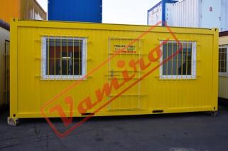 Obytný kontejner - REPASOVANÝ NA OBJEDNÁVKU - Obytný kontejner v rozěru2,45x6x2,6m