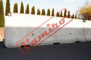Betonová svodidla - Starší betonová svodidla